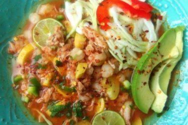Caldo de Cangrejo y Limón (Crab and Lime Soup)