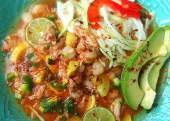Caldo de Cangrejo y Limón (Crab and Lime Soup), photo by Sonia Mendez Garcia