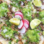 Carne Asada Tacos Taqueria-Style (Arrachera)