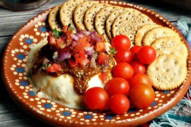Panela Asada (Baked Panela Cheese), photo by Leslie Limón