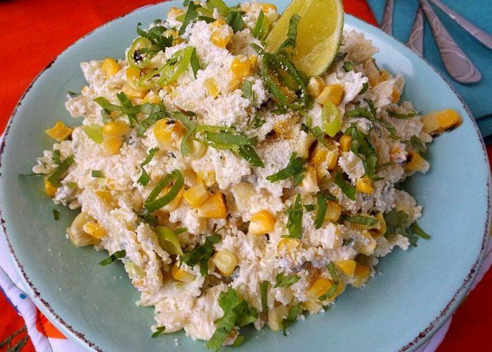Mexican Corn Pasta Salad, photo by Sonia Mendez Garcia