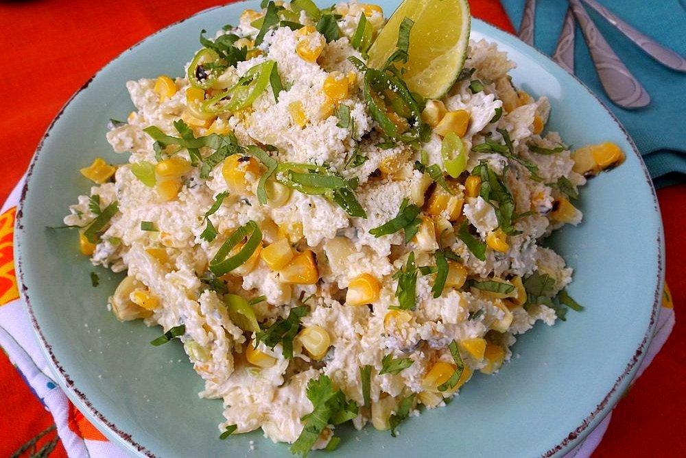 Mexican Corn Pasta Salad(Ensalada de Pasta)