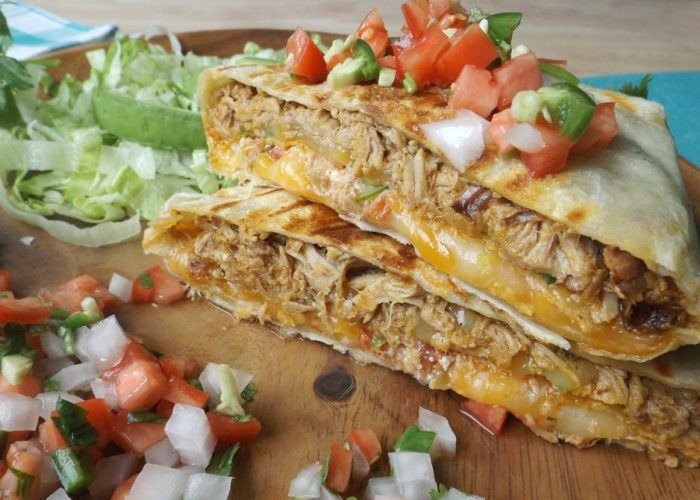 Shredded Pork Crunchwrap (Stuffed Quesadilla), photo by Sonia Mendez Garcia
