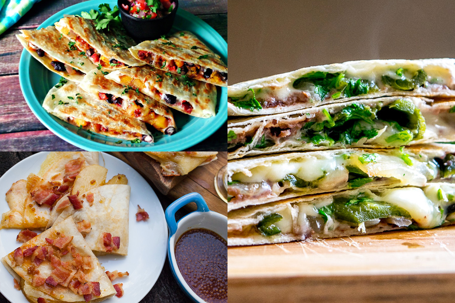 Ace Your Kids' School Lunch With These 12 Quesadilla Recipes, photo by Hispanic Kitchen