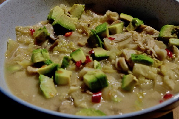 Chicken Cabbage Lime Soup