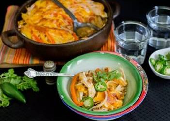 Fire-Grilled Fajita Casserole, photo by Hispanic Kitchen