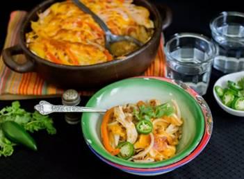 Fire-Grilled Fajita Casserole, photo by Hispanic Kitchen