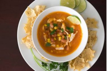 Chicken Pozole, photo by Hispanic Kitchen