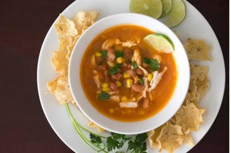 Chicken Pozole, photo by Hispanic Kitchen