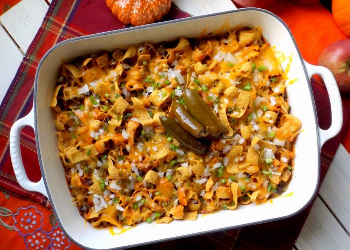 Frito Chili Pie Casserole, photo by Sonia Mendez Garcia