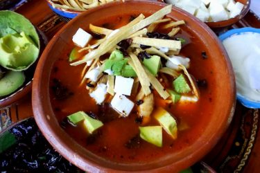 Slow Cooker Mexican Tortilla Soup With Chicken, photo by Sonia Mendez Garcia