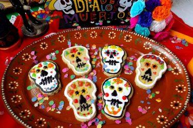 Día de los Muertos Cookies (Calaveras), photo by Sonia Mendez Garcia