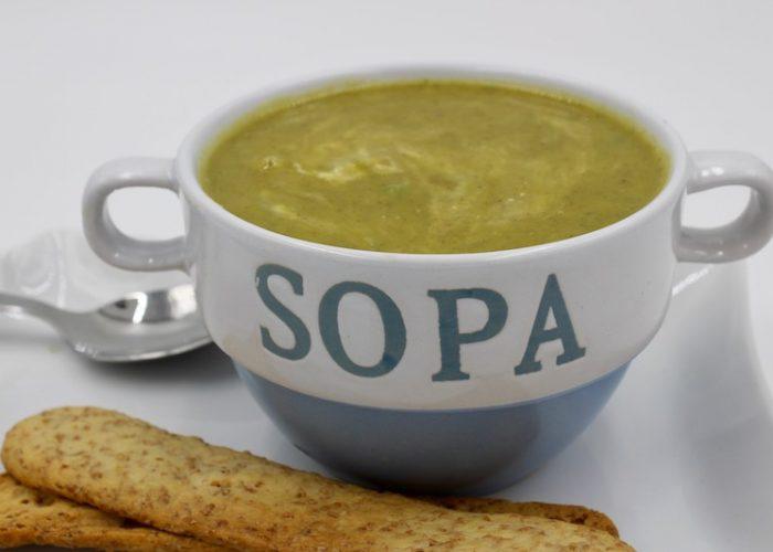 Avocado And Pea Soup