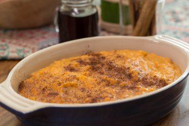 Sweet potato & chipotle purée
