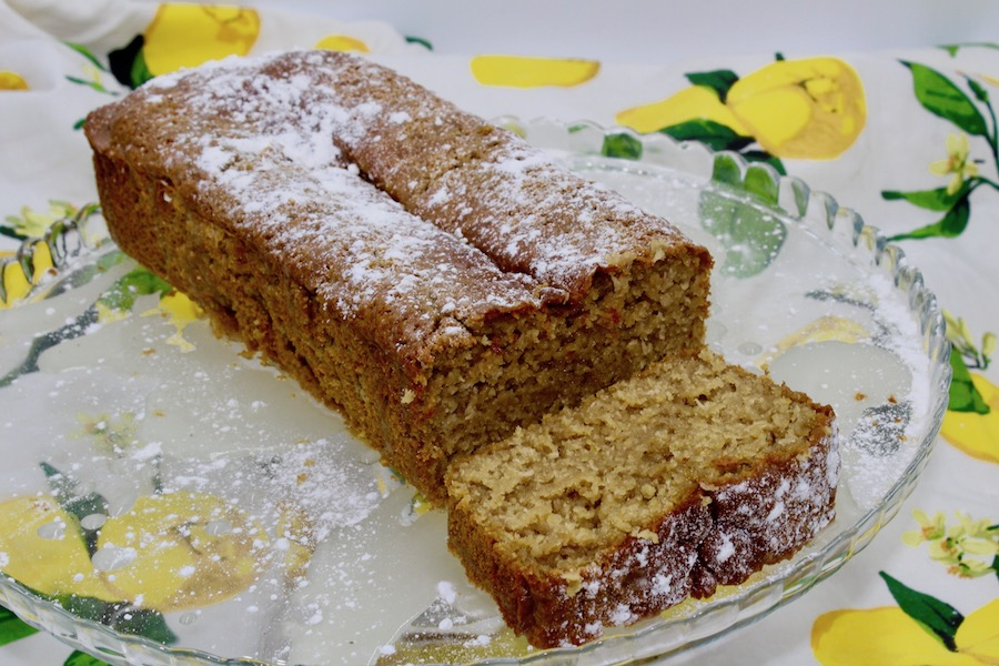 coconut lemon bread