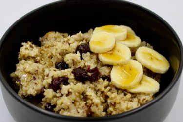 Slow Cooker Morning Maple Quinoa Recipe