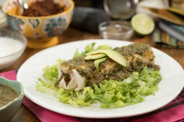 Shredded Pork Burrito With Homemade Salsa Verde, photo by Fernanda Alvarez