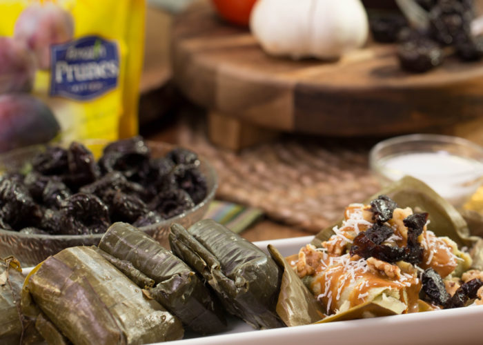 Sweet Tamales with Prunes, Cajeta and Walnuts, photo by Hispanic Kitchen
