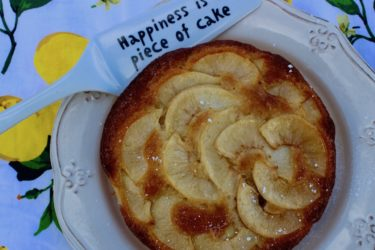 Tarta de Manzana (Apple Sponge Cake), photo by Jennifer Rice