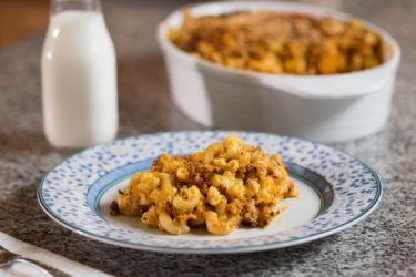 Chorizo Mac and Cheese, photo by Hispanic Kitchen