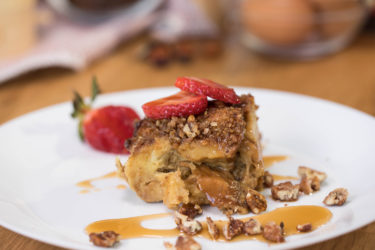 Dulce de Leche French Toast Casserole, photo by Hispanic Kitchen