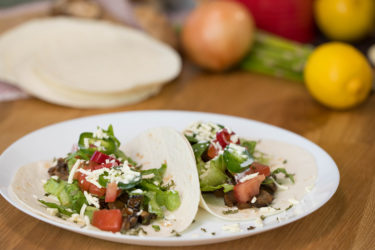 Quick and Easy Mushroom Tacos, photo by Hispanic Kitchen