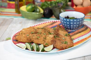 20-Minute Pork Milanese (Lomo de Puerco Empanizado), photo by Hispanic Kitchen