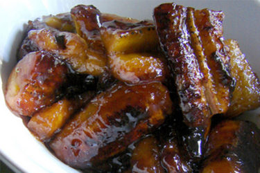 Plátanos en Tentación (Glazed Plantains), photo by Anamaris Cousins Price
