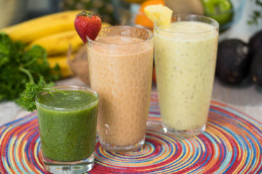 3 Superfood Breakfast Smoothies, photo by Hispanic Kitchen