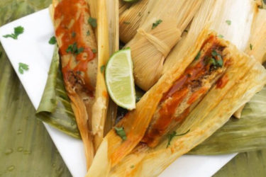 Amazing Beef Mexican Tamales, photo by Catherine Arena