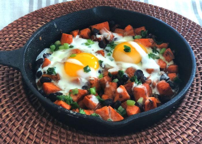 Mexican Sweet Potato Skillet Hash, photo by Hispanic Kitchen