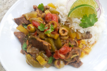 Ropa Vieja Crockpot Recipe, photo by Catherine Arena