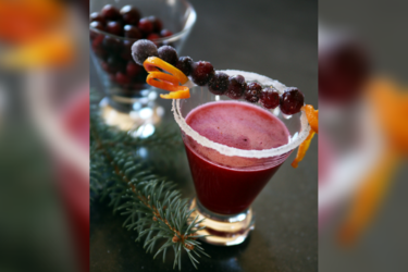 Cranberry Margarita, photo by Hispanic Kitchen