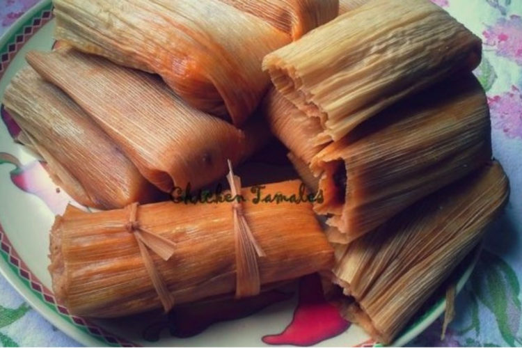Chicken Tamales, photo by Sonia Mendez Garcia