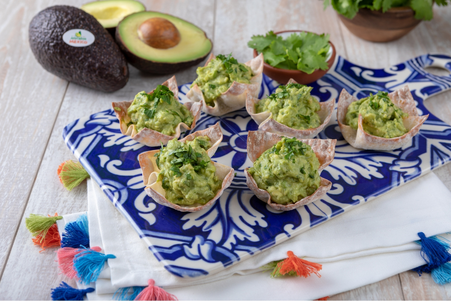 Guacamole Cups for 2, photo by Avocados From Mexico