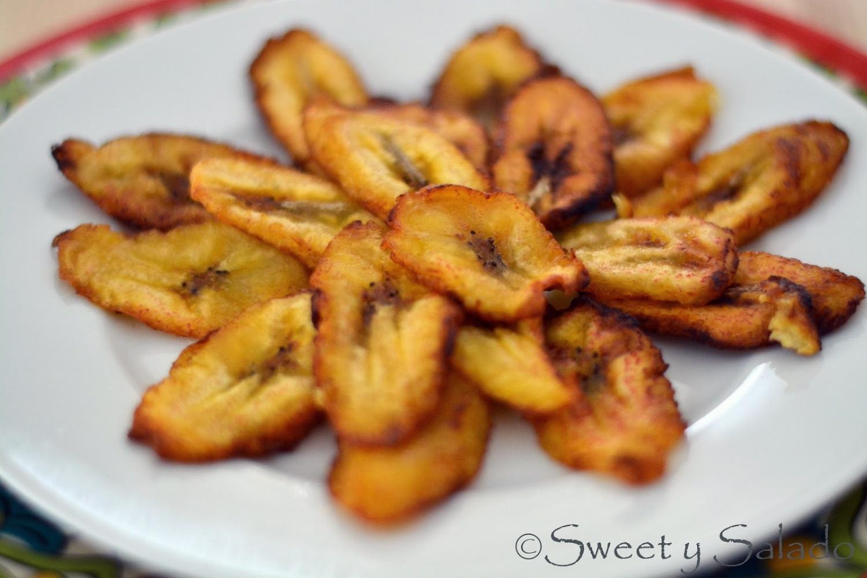 Sweet Plantain Slices (Tajadas), photo by Hispanic Kitchen